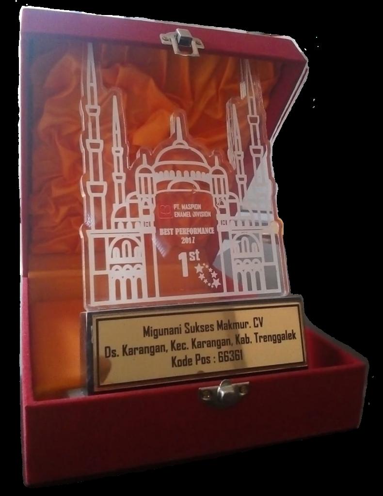 Award piagam harga kubah masjid murah