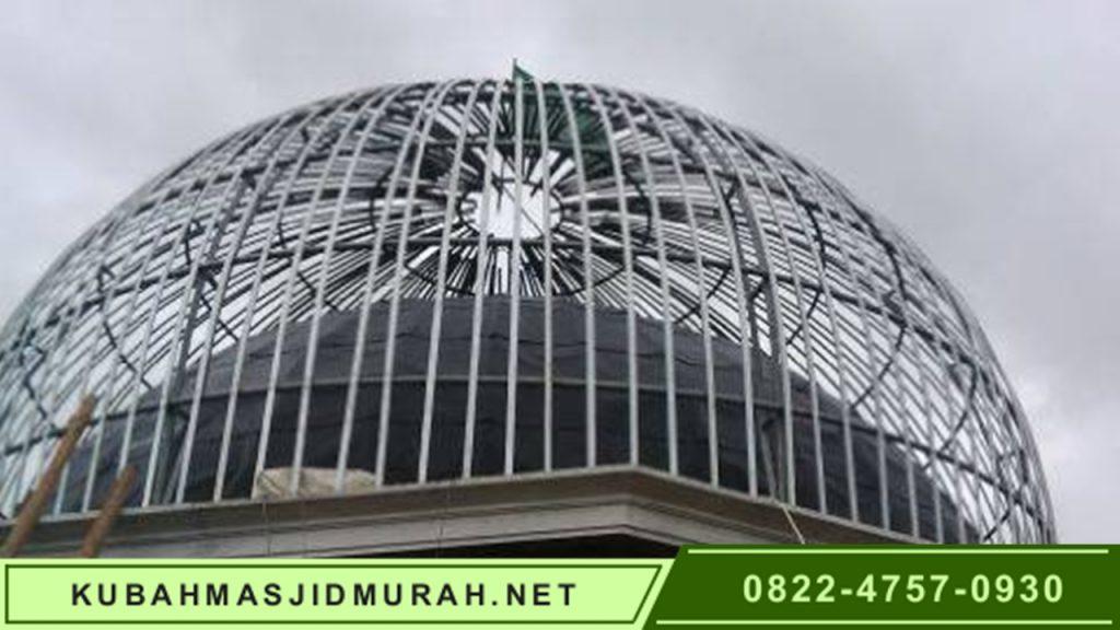 Harga Kubah Masjid Murah Galeri Rangka 3
